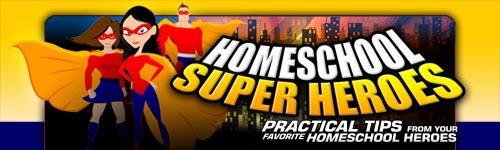 Homeschool Super Heroes - free interview | HomeschoolSuperHeroes.com
